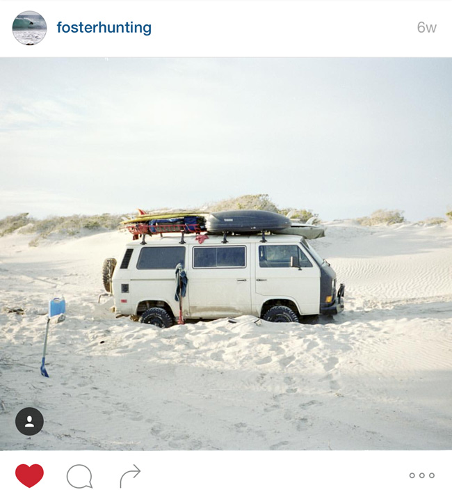 Read about the #vanlife hashtag on Different Drum blog.