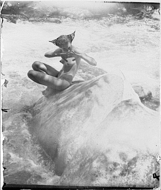 The Water Nixie by Anne Brigman, 1914