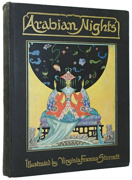 Arabian Nights illustrated by Virginia Frances Sterrett.
