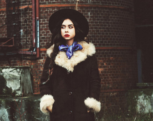 Vintage Lamb Fur Shearling Coat by KeepFashionWeird on Etsy.