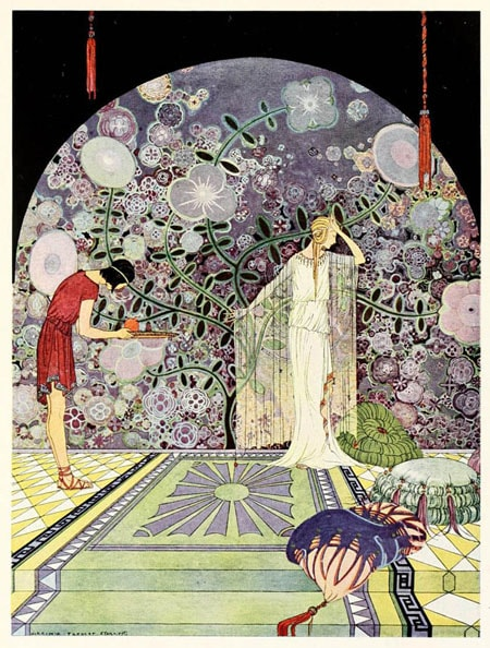 Illustration by Virginia Frances Sterrett From Tanglewood Tales by Nathaniel Hawthorne.