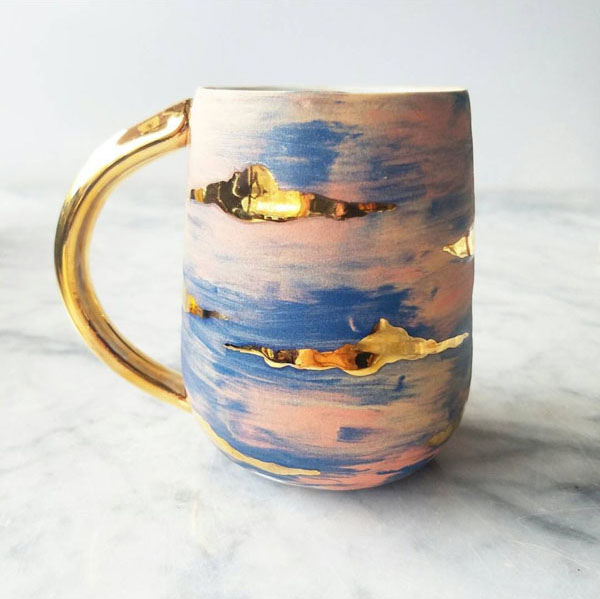 Sky Mug by Anotherseattleartist on Instagram
