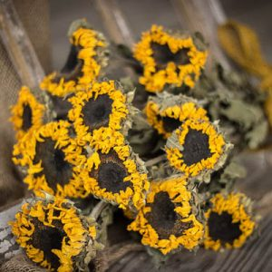 Dried Sunflowers offered by QueenBeeWreath on Etsy