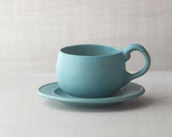 Large Cup and Saucer Set from Bennington Potters. : list of lead free dinnerware manufacturers - pezcame.com