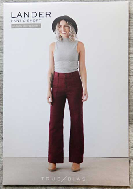 Lander Pant by True Bias. Offered in paper or PDF format.