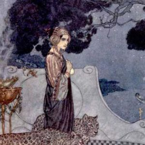 Circe the Enchantress illustration by Edmund Dulac