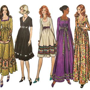 Vogue Basic Design 2635 Maxi Prairie Dress Sewing Pattern