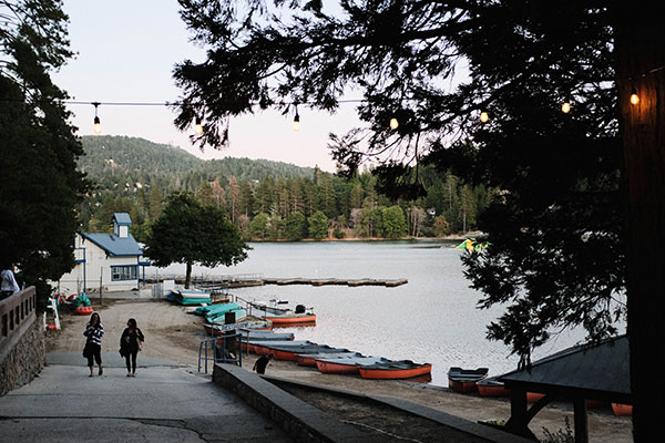Lake Gregory in Crestline, CA