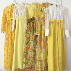 Vintage prairie dresses from Inspirit Vintage on Etsy